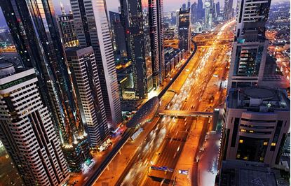 Picture of 8K 360 Degree Timelapse of Dubai's Sheikh Zayed Road